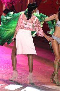 Rihanna in lingerie