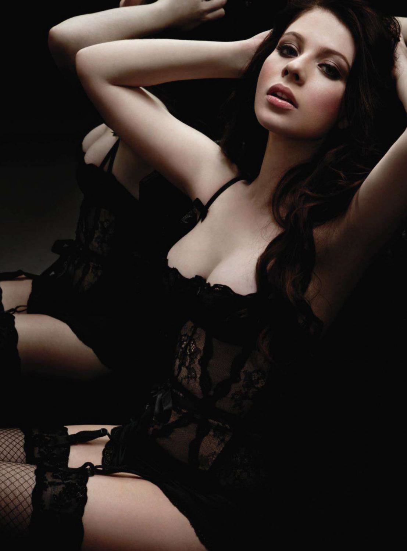 Michelle Trachtenberg in lingerie