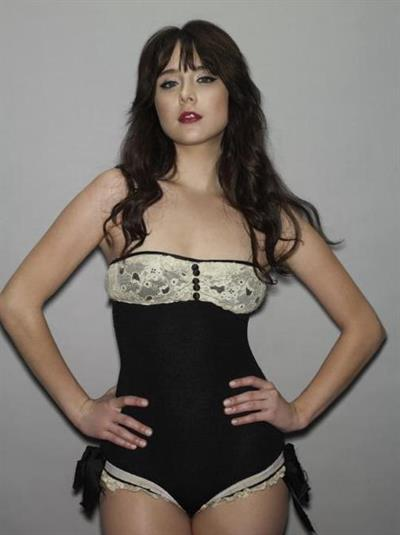 Alessandra Torresani in lingerie