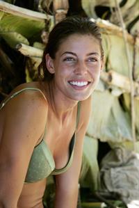 Amanda Kimmel in a bikini