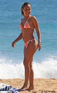 Jada Pinkett Smith in a bikini