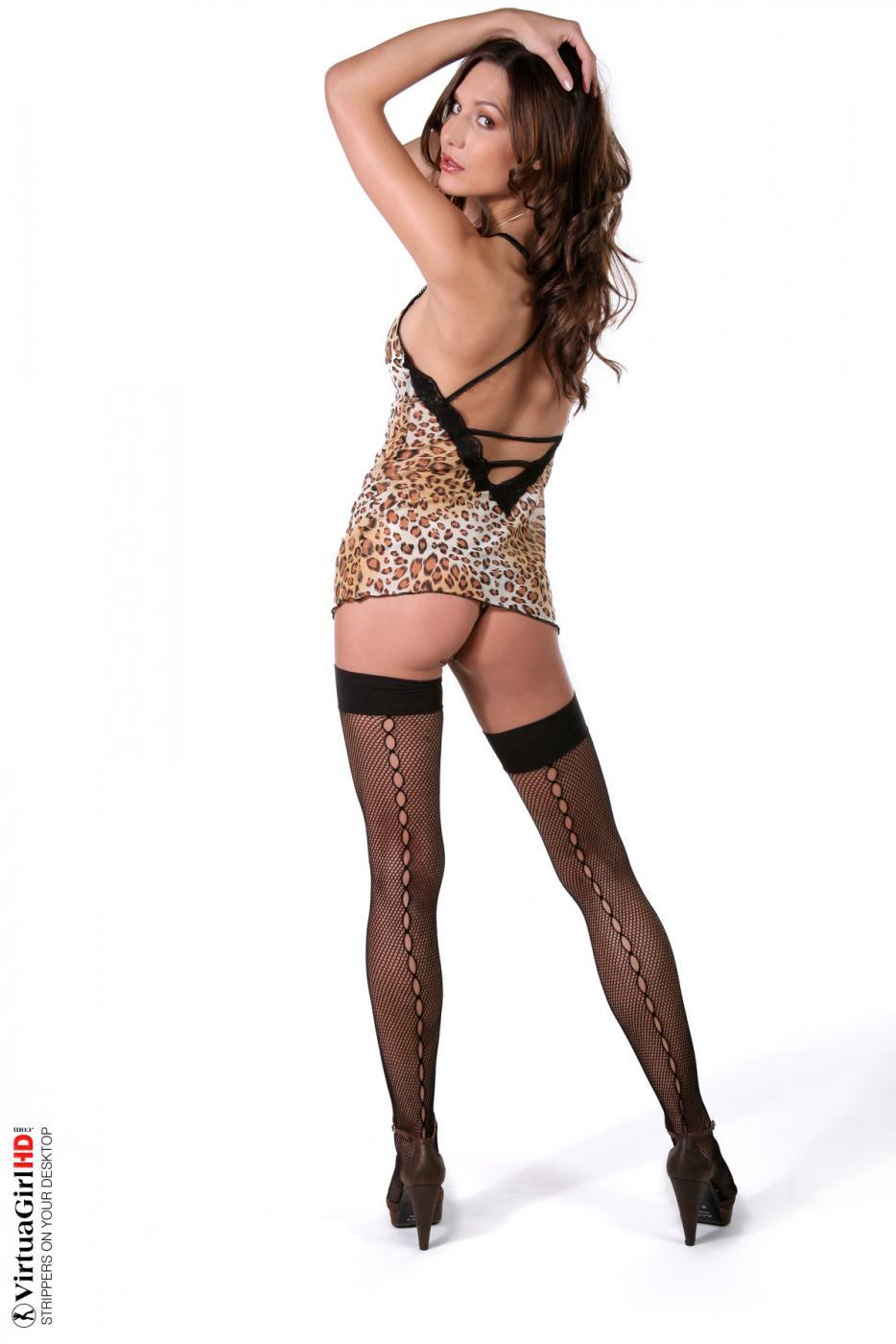 Zdena A in lingerie - ass