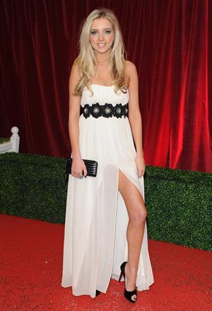Alice Barlow the British Soap Awards 2012 on April 28, 2012