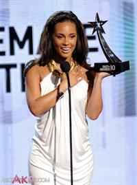 Alicia Keys BET Awards on June 27, 2010