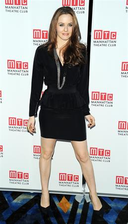 Alicia Silverstone opening night party for Time Stands Still