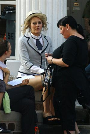 Alicia Silverstone on Vamps set in Detroit on August 13, 2010