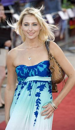 Ali Bastian attends the Cowboys and Aliens premiere in London August 11, 2011