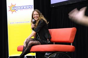 Amy Acker Supernova pop culture expo on July 20, 2011