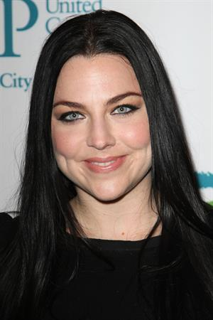 Amy Lee at Men Who Care Luncheon in New York City on May 3, 2012