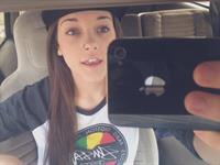 Casey Ledford taking a selfie