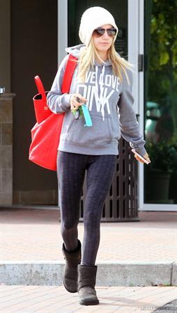 Ashley Tisdale leaving dentist's office 11/14/12