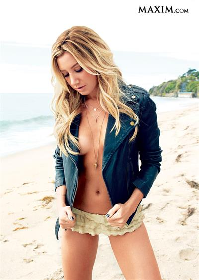 Ashley Tisdale in lingerie