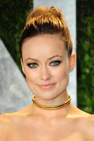 Olivia Wilde 2012 Vanity Fair Oscar Party in West Hollywood on February 26, 2012