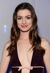 Anne Hathaway attends the 13th annual White Tie Tiara Ball in England on June 23, 2011
