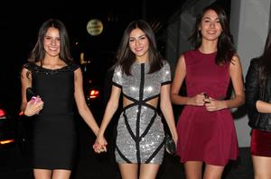 Victoria Justice 20th birthday party in LA 3/2/13