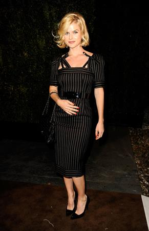 Alice Eve arrives at the Chanel And Charles Finch Pre-Oscar Dinner at Madeo Restaurant on February 25, 2012 in Los Angeles, California.