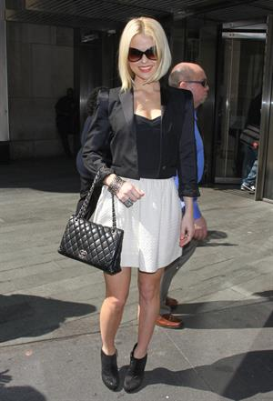 Alice Eve at MTV studios in New York on April 16, 2012