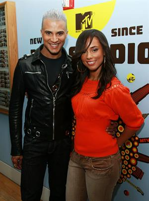 Alicia Keys on MTV