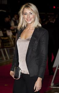 Ali Bastian the Rum Diary Premiere on November 3, 2011
