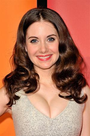 Alison Brie 2011 NBC Upfront at the Hilton in New York City on May 16, 2011