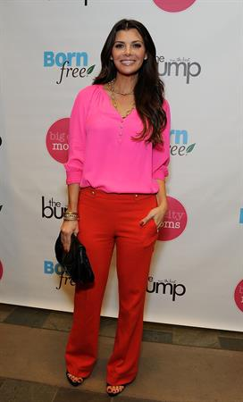Ali Landry Biggest Baby Shower hosted by Big City Moms and The Bump on February 28, 2012