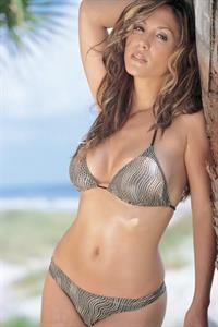 Leeann Tweeden in a bikini