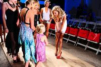 Beach Bunny Swimwear show - Backstage
