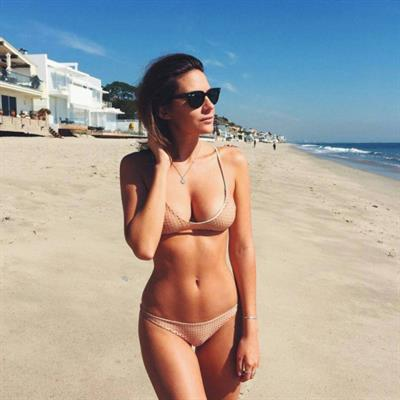Anonymous in a bikini