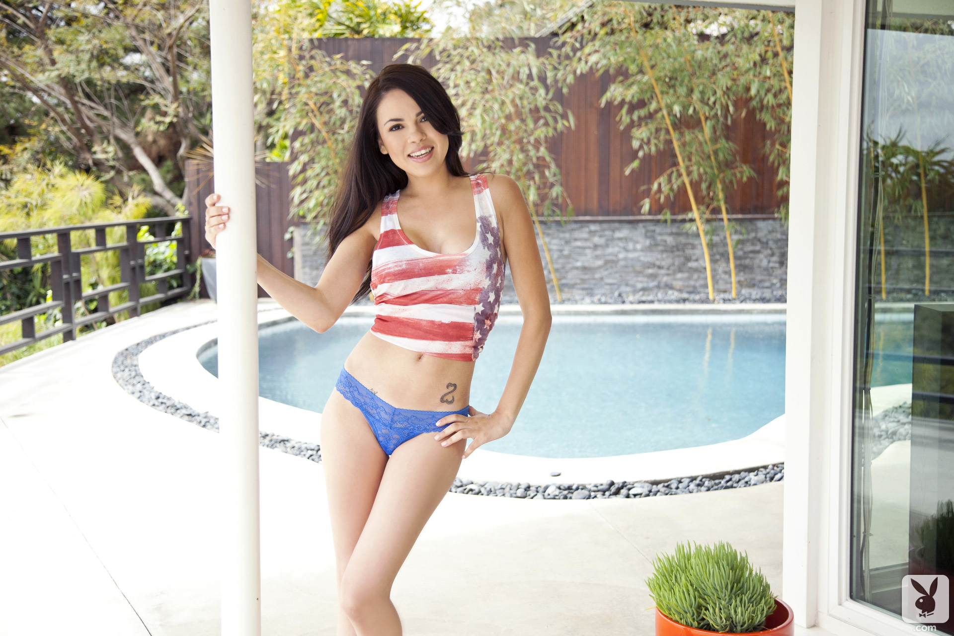 Lissette Marie in a Playboy photoshoot