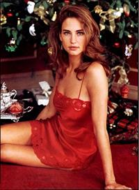 Jill Goodacre in lingerie
