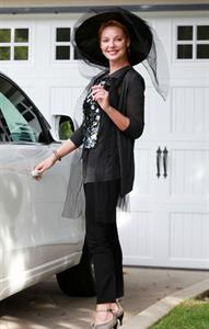 Katherine Heigl in a witch costume for Halloween