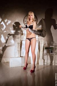 Anna Prugova in lingerie