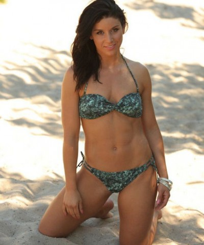 Allison Baver in a bikini