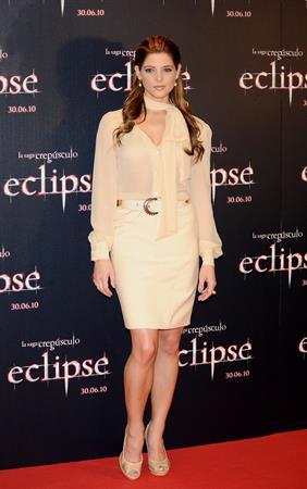 Ashley Greene photocall for the Twilight Saga Eclipse on June 28, 2010 in Madrid, Spain