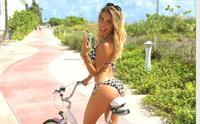 Luly Drozdek in a bikini