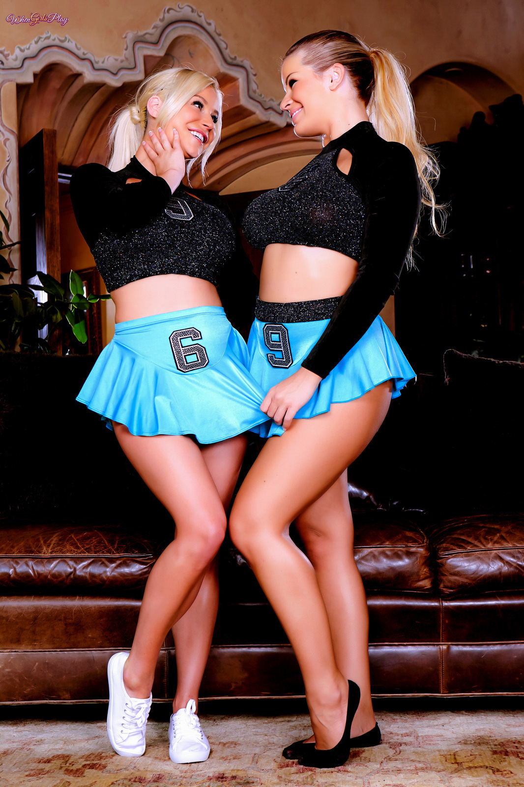 Pon Pon Girls.. featuring Adriana Sephora, Spencer Scott | Twistys.com