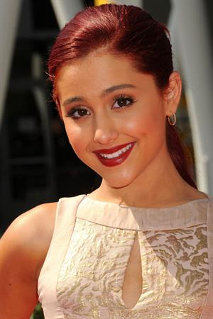 Ariana Grande 63rd Primetime Creative Arts Emmy Awards at the Nokia Theater in Los Angeles live on September 10, 2011