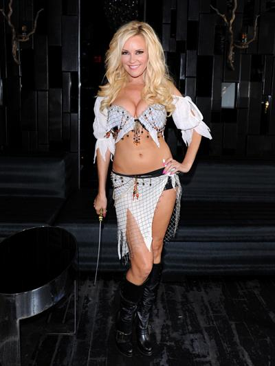 Bridget Marquardt in a sexy Halloween costume