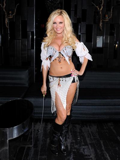 Bridget Marquardt in a sexy Halloween costume