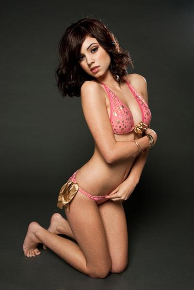 Gabby Jeanne in a bikini