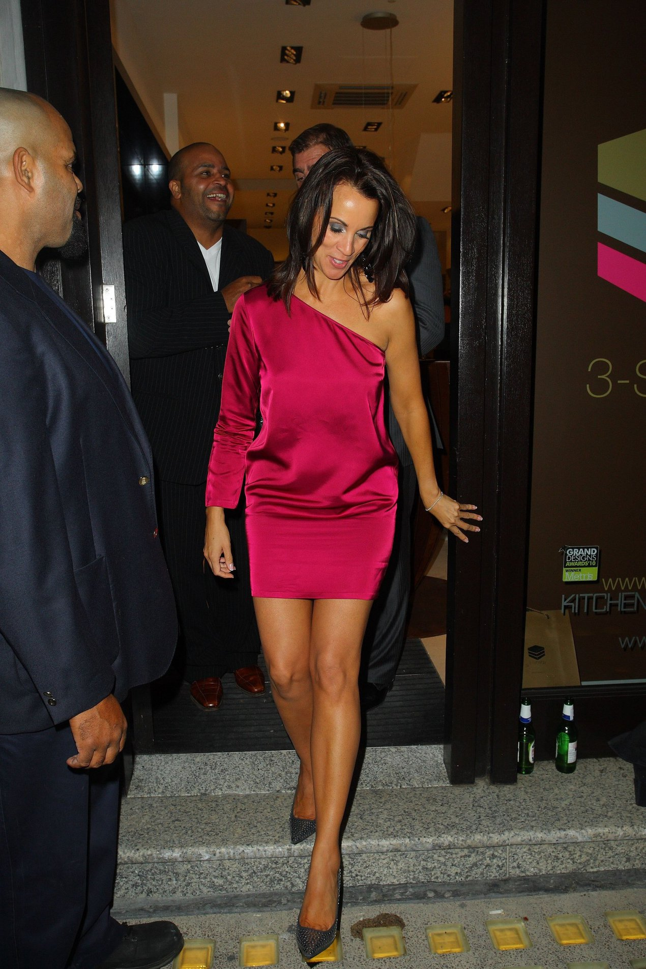 Andrea McLean 3 Synergy Launch Party in London on September 30, 2010