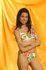 Nikita Anand in a bikini