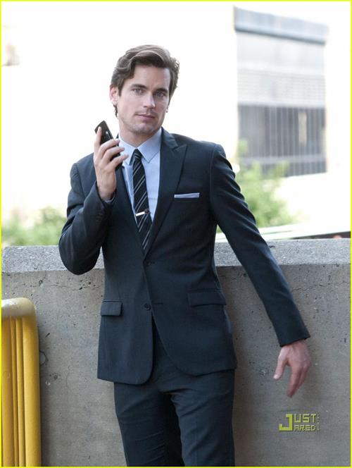 Matt Bomer in a suit
