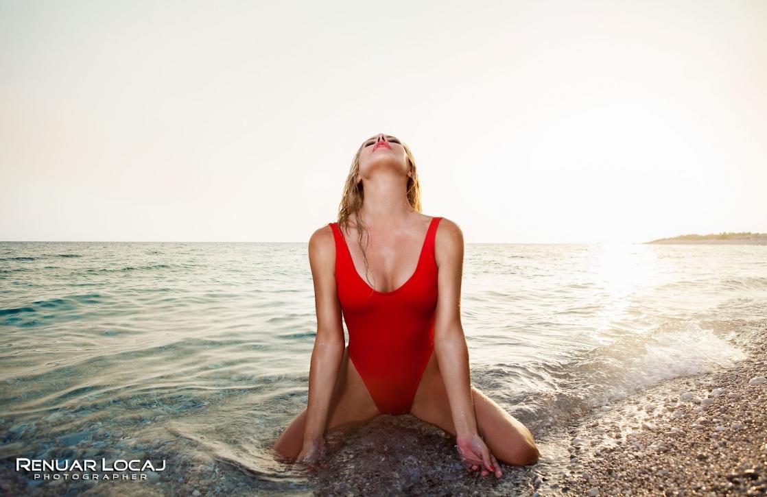 Lola Luma in a bikini