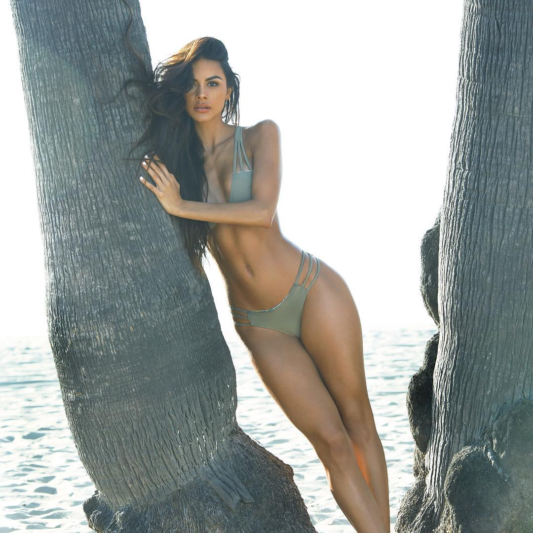 Sophia Miacova in a bikini