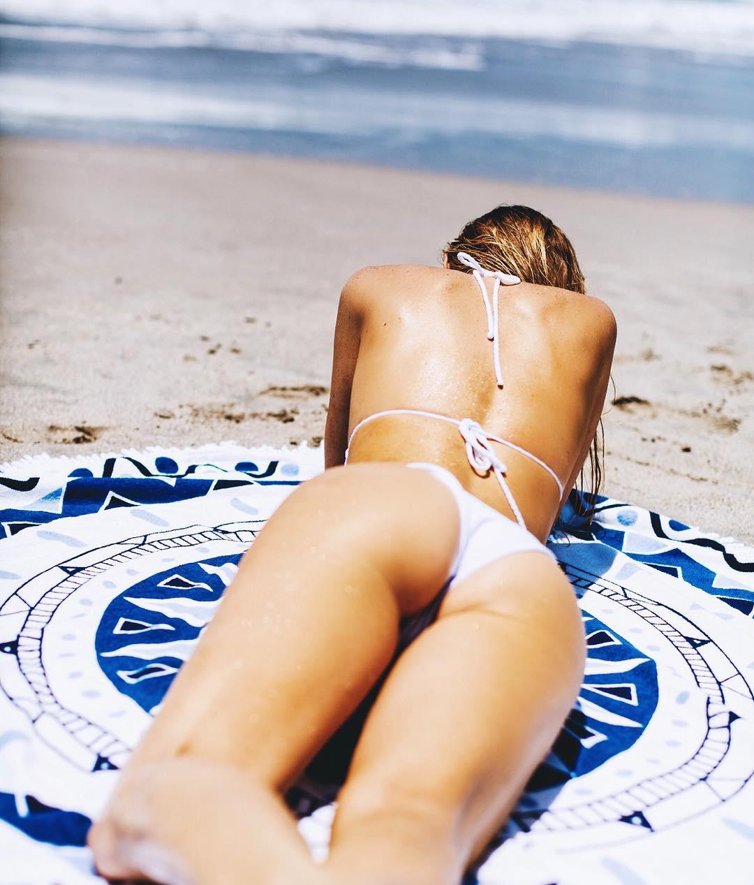Kasey Ashcraft in a bikini - ass