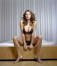 Keeley Hazell in a bikini