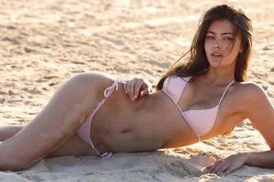 Eva Adams in a bikini