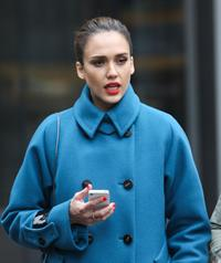 Jessica Alba out and about in New York City on January 15, 2012