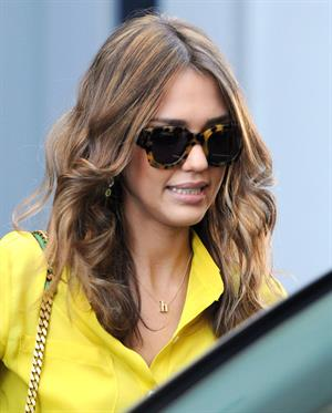 Jessica Alba in Los Angeles on January 26, 2012